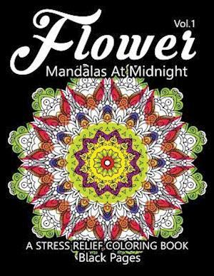 Bog, paperback Flower Mandalas at Midnight Vol.2 af Relax Team