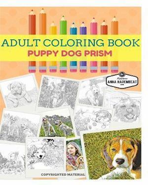 Puppy Dog Coloring Book af Anna Harembeat