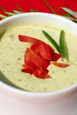 Bog, paperback Zucchini Yogurt Soup, for the Love of Food af Unique Journal