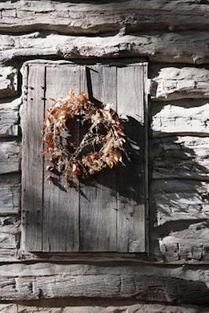 Bog, paperback Rustic Dried Autumn Leaf Wreath Journal af Cs Creations