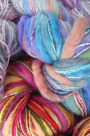 Bog, paperback Multi-Colored Yarn Journal af Cs Creations