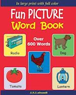 Fun Picture Word Book (Full Color)