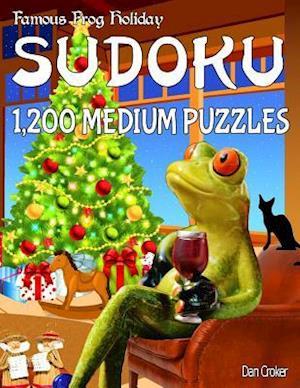 Bog, paperback Famous Frog Holiday Sudoku 1,200 Medium Puzzles af Dan Croker