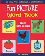 Fun Picture Word Book (Black & White)
