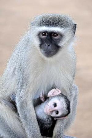 Bog, paperback Grivet Monkey and Her Baby Journal af Cs Creations