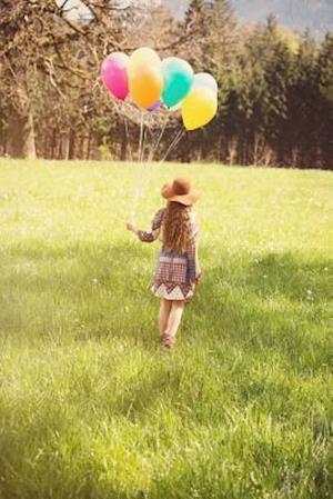 Bog, paperback Little Girl with Balloons Journal af Cs Creations