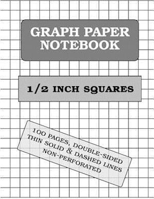 Graph Paper Notebook af Graph Paper and More