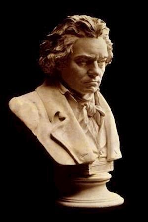 Bog, paperback Bust of Ludwig Van Beethoven Journal af Cool Image