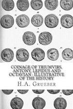 Coinage of Triumvirs, Antony, Lepidus and Octavian