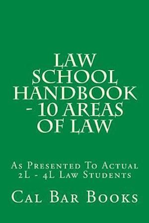 Bog, paperback Law School Handbook - 10 Areas of Law af Cal Bar Books
