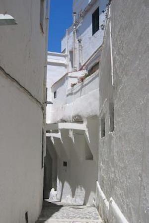 Bog, paperback Website Password Organizer a Narrow Alley in Santorini, Greece af Unique Journal