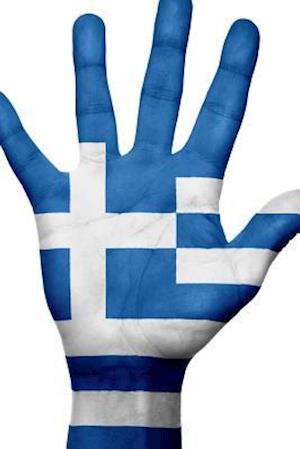 Bog, paperback Website Password Organizer the Flag of Greece on a Hand af Unique Journal