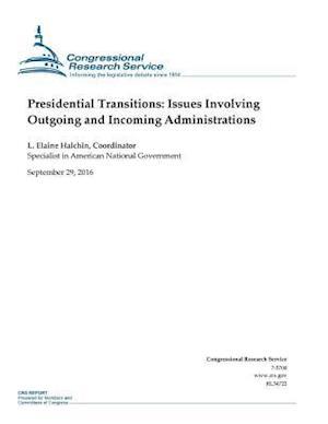 Bog, paperback Presidential Transitions af Congressional Research Service, L. Elaine Halchin