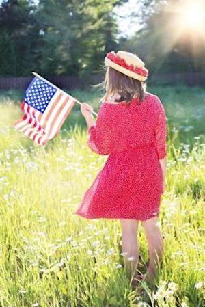 Bog, paperback Happy Fourth of July USA Journal af Cs Creations