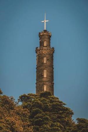 Bog, paperback Nelson Monument in Edinburgh Scotland Journal af Cool Image