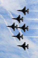 Six Thunderbird Jets in Tight Formation Journal
