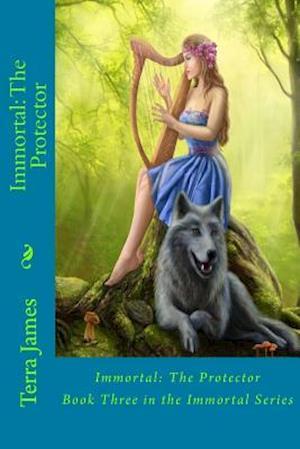 Bog, paperback Immortal af Terra James, Simon Oneill