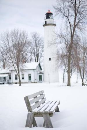 Bog, paperback Michigan Lighthouse in the Snow Journal af Cs Creations
