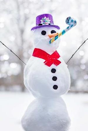 Bog, paperback Snowman Celebrating the New Year Journal af Cs Creations