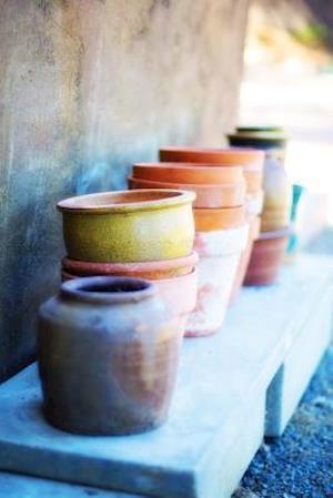 Bog, paperback Glazed Terracotta Flower Pots Gardening Journal af Cs Creations