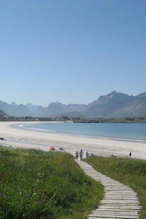 Bog, paperback Ramberg Beach in Flakstad, Norway af Unique Journal