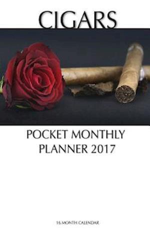 Bog, paperback Cigars Pocket Monthly Planner 2017 af David Mann