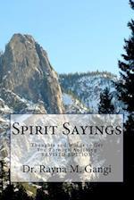 Spirit Sayings