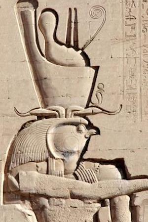 Bog, paperback Bas-Relief of Egyptian God Horus Near Aswan Egypt Journal af Cool Image
