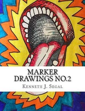 Bog, paperback Marker Drawings No.2 af Kenneth J. Segal