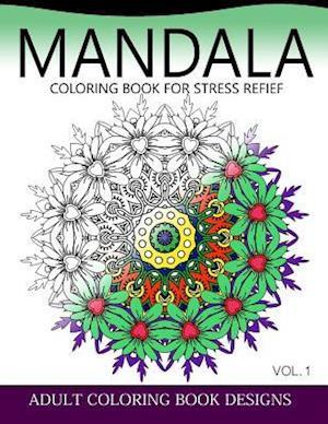 Bog, paperback Mandala Coloring Books for Stress Relief Vol.1