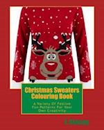 Christmas Sweaters Colouring Book