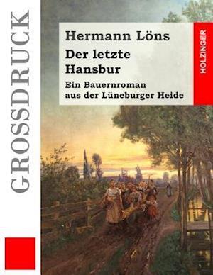 Bog, paperback Der Letzte Hansbur (Grossdruck) af Hermann Lons