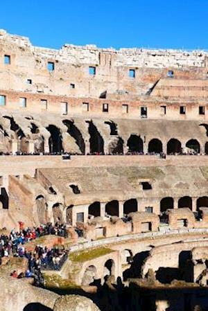 Bog, paperback Interior View of the Ancient Roman Colosseum in Rome af Unique Journal