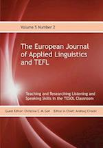 The European Journal of Applied Linguistics and Tefl