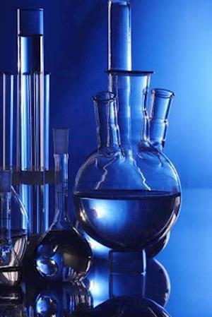 Bog, paperback Cool Blue Beakers and Bottles in a Chemistry Lab af Unique Journal