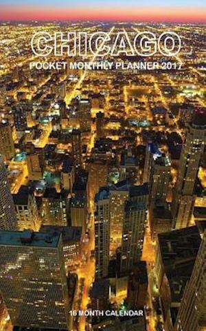 Bog, paperback Chicago Pocket Monthly Planner 2017 af David Mann