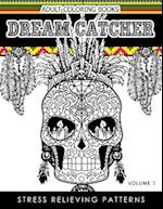 Adult Coloring Books Dream Catcher Volume 1