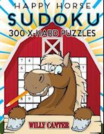 Happy Horse Sudoku 300 Extra Hard Puzzles af Willy Canter