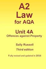 A2 Law for Aqa Unit 4 a