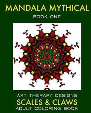 Mandala Mythical af Maya Necalli, Art Therapy Designs