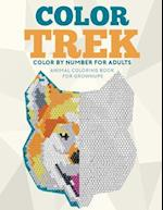 Color Trek Color by Number for Adults