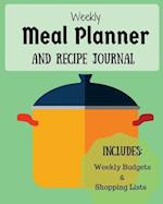 Weekly Meal Planner and Recipe Journal