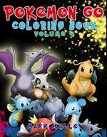 Pokemon Go Coloring Book