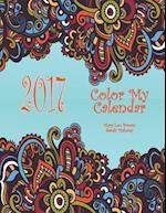2017 Color My Calendar