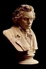 Bust of Ludwig Van Beethoven Musical Composer Journal