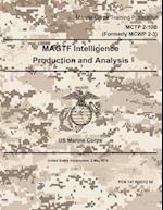 Marine Corps Training Publication McTp 2-10b Formerly McWp 2-3 US Marine Corps Magtf Intelligence Production and Analysis 2 May 2016