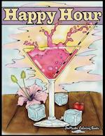 Happy Hour Adult Coloring Book
