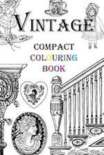 Vintage Compact Colouring Book
