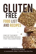 Gluten Free Food List and Recipes