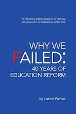 Why We Failed